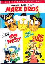 Go West / The Big Store (DVD,2004,Double Feature) Marx Bros New