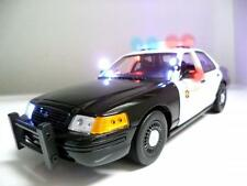 1/18 Police car with Working LED Lights and Siren los angeles