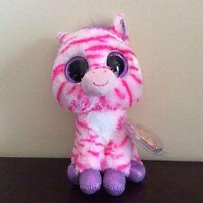 """Ty Beanie Boo Zazzy the Zebra 6"""" Claire's Exclusive Mwmt"""