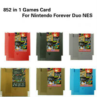 Cartridge Multi Cart 852 in 1 Games Card For Nintendo Forever Duo NES 405 & 447