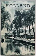 NETHERLANDS OFFICIAL TOURIST OFFICE  HOLLAND TRAVEL BROCHURE 1930s VINTAGE