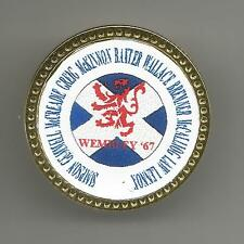 SCOTLAND SUPPORTERS: WEMBLEY '67 TEAM PIN BADGE