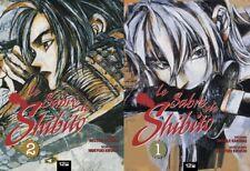 Lot de 2 mangas Le SABRE de SHIBITO n° 2 + 3 TBE pas cher version Française
