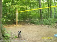picket line tie out camping exercise training cable Leash runs dog AND horse
