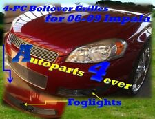 06 07 08 2008 Chevy Impala LT New Billet Grille Combo