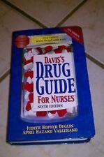 Davis's Drug Guide for Nurses Vol. 2 by Judith Hopfer Deglin and April Hazard...