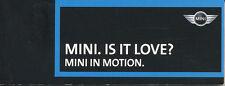 MINI pollice cinema IS IT LOVE? ORIGINALE piccolo deliverable 2000 AUTO AUTOMOBILI
