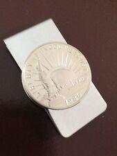 Statue of Liberty 1986 Half Dollar collector coin money clip