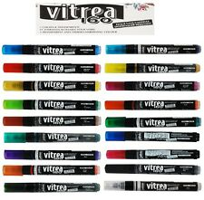 Pebeo Vitrea 160 Marker Glass Paint Glossy Ink Black. Is