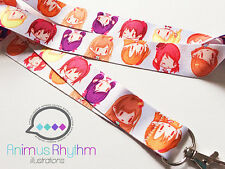 Love Live Lanyard badge holder anime idol