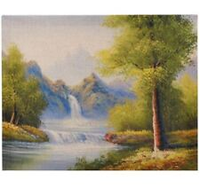 Print Painting-Canvas (Multicolor) - Enchanted Forest