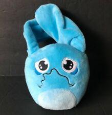 "Hana Zuki Hemka Treasures Sad Face Bunny Plush Stuffed Toy Hasbro  Blue 5"""