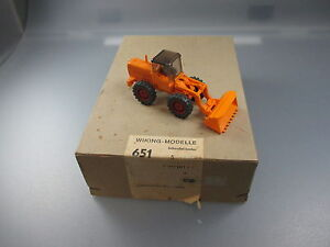 Wiking : Emballage Distributeur Nr.651 Avec 1 Schauffellader/Excavatrice (GK111)