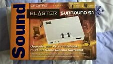 Creative Sound Blaster Surround 5.1 USB - 24-bit Home Cinema Surround