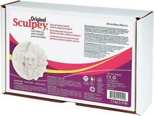 SCULPEY ORIGINAL Oven Bake Polymer Clay - Extra Large 1.7 kg (3.75 lbs) - WHITE