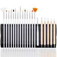20pcs Nail Art Brushes Gel Design Pen Painting Dotting Drawing Manicure Tools