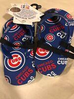 Child Chicago Cubs Flip Flops Size Large (Kids Shoe Size 9 to 10)