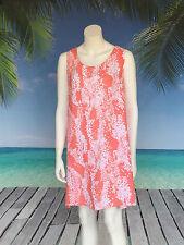 Summer Dress   A-line   knee length   Size M   blue black peach   Holley Day