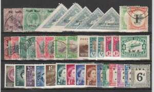 D1254: South West Africa Stamp Lot; CV $80