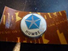 HUMBER Original 1960's Quality Gear Knob Lever Badge Key Fob Enamel NOS
