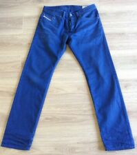 DIESEL BRADDOM JEANS SIZE 32 X 32 REGULAR SLIM CARROT TWO HOLES SEE DESCRIPTION