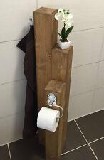 Toilettenpapierhalter-Klorollenhalter- Handtuchhalter- Rustikal - WC - Handtuch