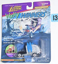 JOHNNY  LIGHTNING WACKY WINNERS SERIES 4 GARBAGE TRUCK SILVER