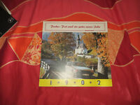 Historische Kalender  / Landschaften - Orte / 1982