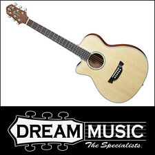 Crafter TRV 23 Traveller Left Hand Spruce Top Cutaway Acoustic with Bag RRP$599