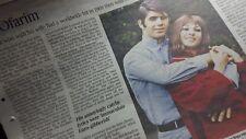 ABI OFARIM. Times Obituary. UK Newspaper cutting clipping  18.5.18
