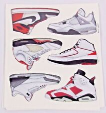 Air Jordan Sticker Sheets 1 2 3 4 5 6 7 8 9 10 11 12 13 Nike Air Retro Remaster