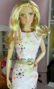 Gorgeous Citrus Obsession Barbie~2005~ Model Muse Doll~NUDE~SILVER Label