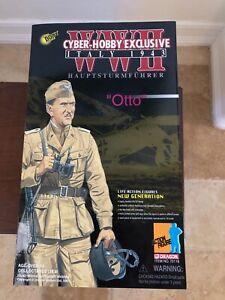 DRAGON CYBER HOBBY EXCLUSIVE WWII ITALY 1943 HAUPTSTURMFUHRER OTTO 12 1/6 FIGURE