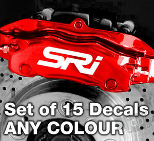 VAUXHALL SRI Quality Brake Caliper Decals Stickers - ANY COLOUR