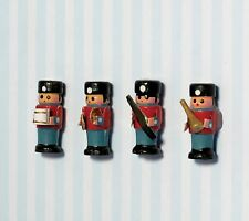 Dolls House Emporium Miniature 1/12th Scale Set of 4 Toy Soldiers 5573