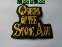 Queens Of The Stone Age Patch Sew / Iron On Music Festival Embroidered Badge