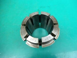 """ENGINEERS CRAWFORD MULTIBORE COLLET T285 E19   2-1/4""""- 2-3/8""""   57.15- 60.32MM"""