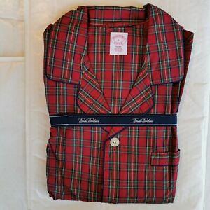 Brooks Brothers Men's Checked Cotton Broadcloth Pyjamas Large
