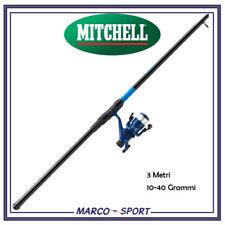 Kit combo canna da pesca mulinello filo Mitchell adventure telescopica bolognese