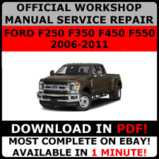 Ford car technical manuals and literature ebay official workshop repair manual for ford f250 f350 f450 f550 2006 2011 freerunsca Images