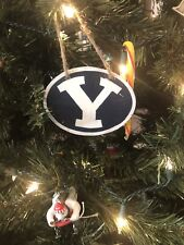 BYU Cougars Handmade Wooden Ornament