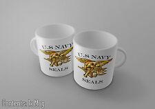 U.S Navy le foche-MILITARE LOGO / Emblema stile / tema-Tè / Caffè Tazza / TAZZA