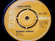 "CLODAGH RODGERS - GOODNIGHT MIDNIGHT  7"" VINYL"