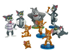 Tom and Jerry 9 Piece Play Set with 9 Tom, Jerry, and Spike Figures