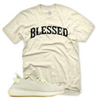 New BW BLESSED T Shirt for Adidas Yeezy 350 V2 BUTTER GUM