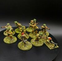 Well Painted 28mm Bolt Action British Airborne Squad #4 (10 Men) ww2