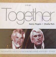 2CD NEW SEALED - KENNY ROGERS & CHARLIE RICH - Pop Country Music - 2x CD Album