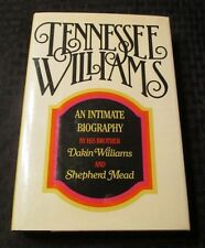 1983 TENNESSEE WILLIAMS An Intamate Biography SIGNED HC/DJ NM/VF+
