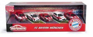 Majorette 212053173 - Jeu FC Bayern Munich (2021 Version) - 5 Véhicules - Neuf