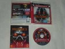 Jeu KILLZONE 3 Sony Playstation 3 PS3 PAL FRA Essentials Complet Très Bon État